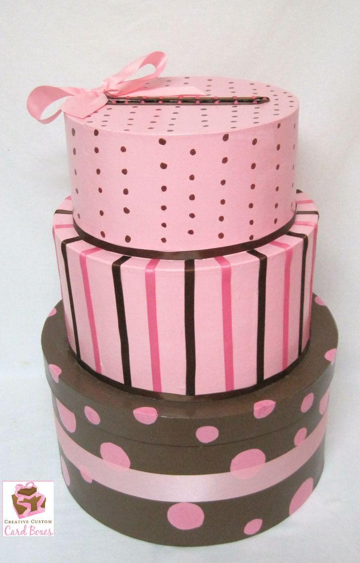 Tiered Cake Boxes Picture in Cake Decor