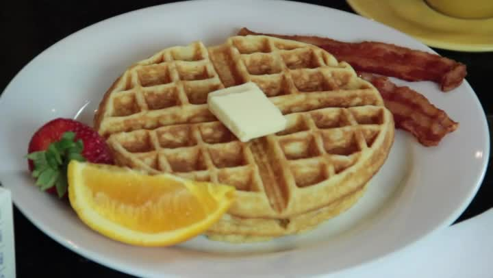 Waffle And Pancake Maker Picture in pancakes