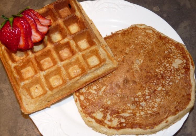 Waffle Batter Vs Pancake Batter Picture in pancakes