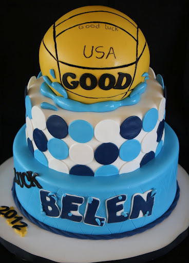 Water Polo Cake Picture in Cake Decor