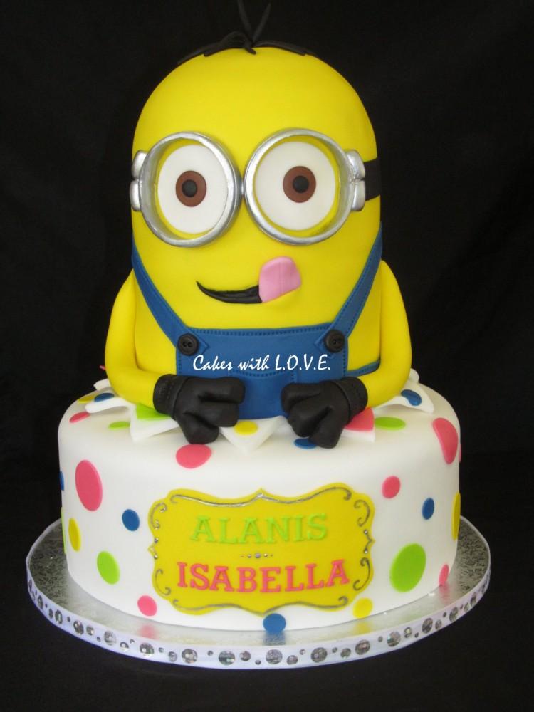 Where To Buy Minion Cake Picture in Cake Decor