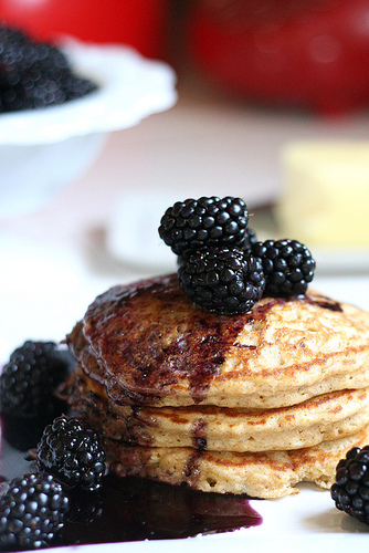 Whole Grain Pancake Mix Picture in pancakes