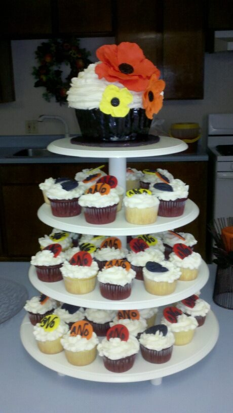Wilton Cupcake Tower Stand Picture in Cupcakes