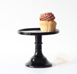 1024x1024px Black Glass Cake Stand Picture in Cupcakes