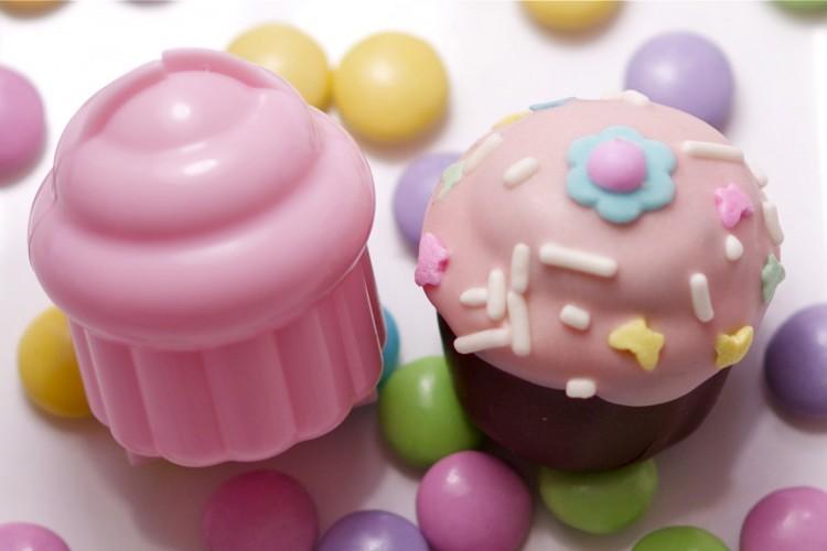 Cupcake Pop Picture in Cake Decor
