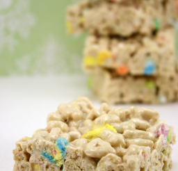 640x960px Lucky Charm Cereal Bars Picture in Cake Decor