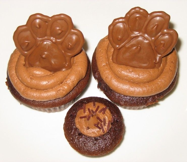 Merckens Chocolate Melts Picture in Chocolate Cake