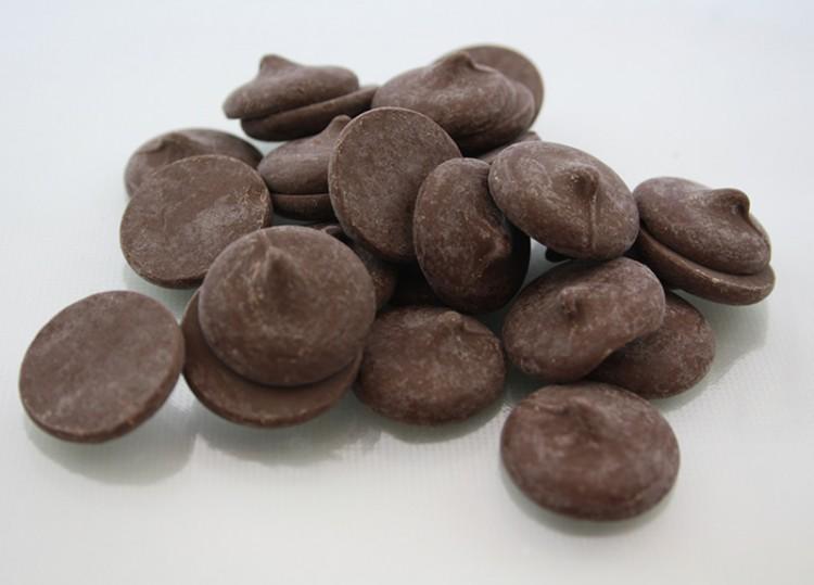 Merkens Chocolate Picture in Chocolate Cake