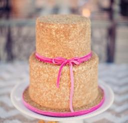 522x783px Pink Velvet Ribbon Picture in Cake Decor