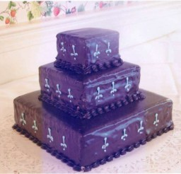 640x538px Square Cake Pedestal Picture in Cake Decor
