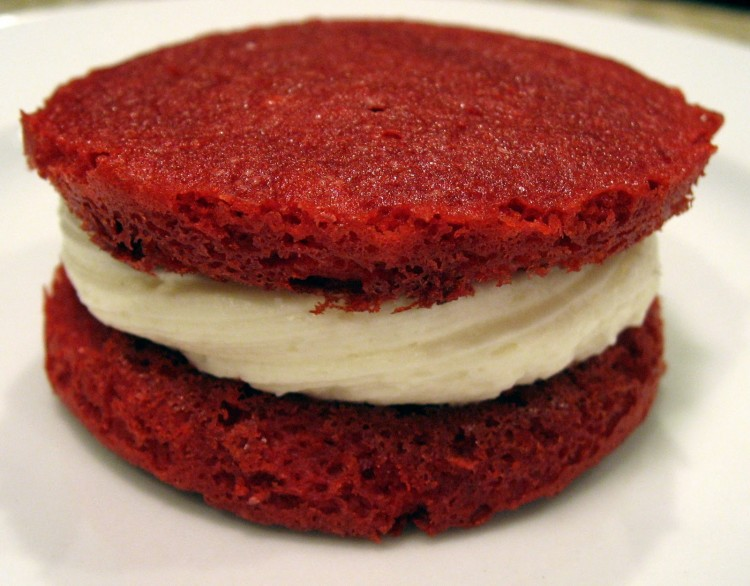 Whoopie Pie Picture in Cake Decor