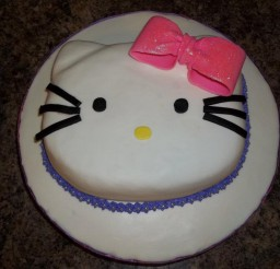 960x720px Icing Hello Kitty Cake Picture in Birthday Cake