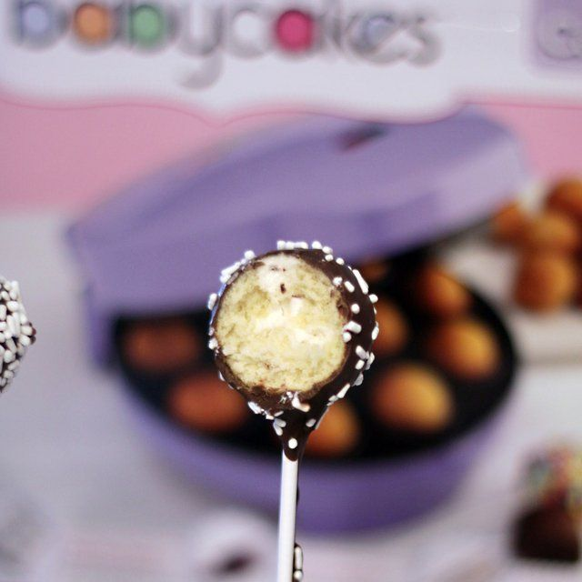 Babycakes Pop Maker Picture in pancakes