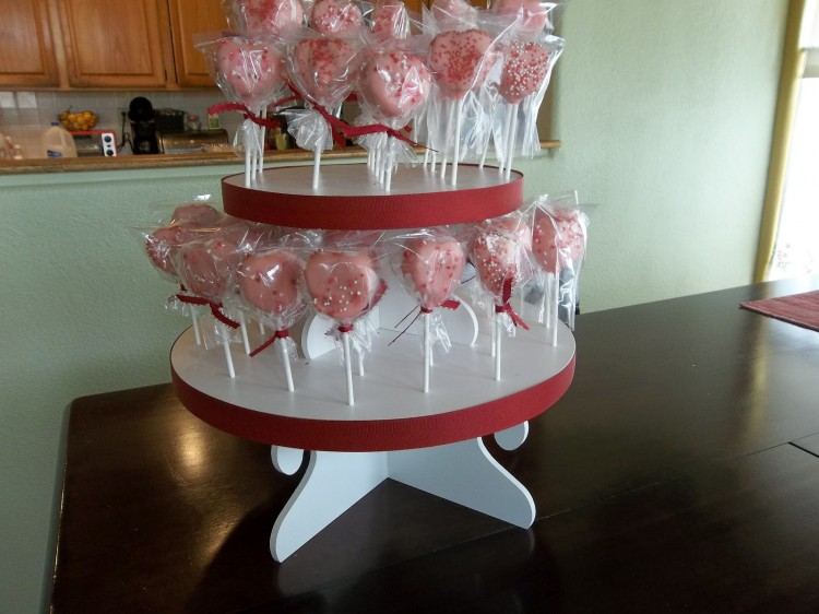 Cake Pop Molds Picture in Birthday Cake
