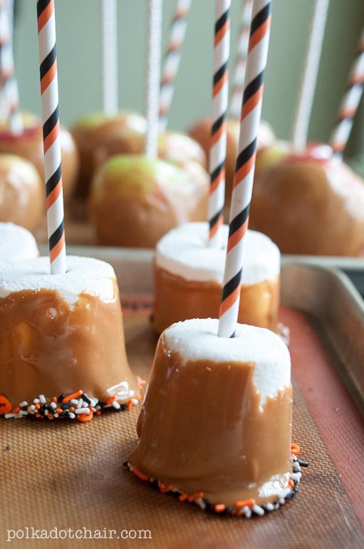 Caramel Marshmallows Picture in pancakes
