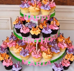 463x500px Superb Colored Candy Melts Picture in Birthday Cake