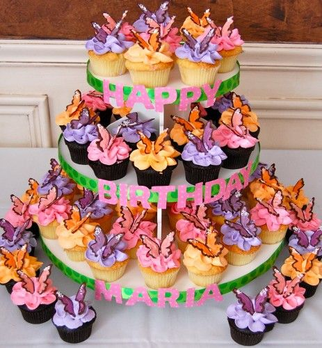 Superb Colored Candy Melts Picture in Birthday Cake