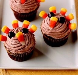 736x552px Festive Thanksgiving Desserts Picture in Cupcakes