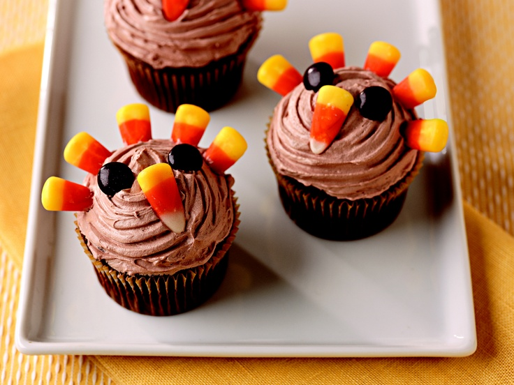 Festive Thanksgiving Desserts Picture in Cupcakes