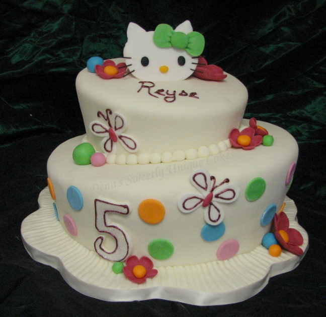 Hello Kitty Birthday Cake Decorations Picture in Birthday Cake