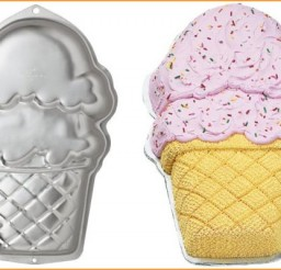 579x400px Ice Cream Cone Cake Pan Picture in Cupcakes