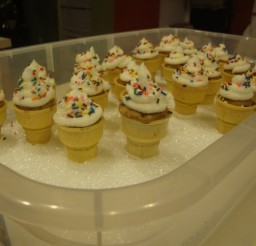736x552px Ice Cream Cone Cupcake Holders Picture in Cupcakes