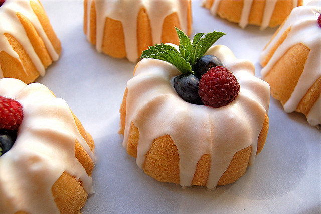 Mini Bundt Cakes Picture in pancakes