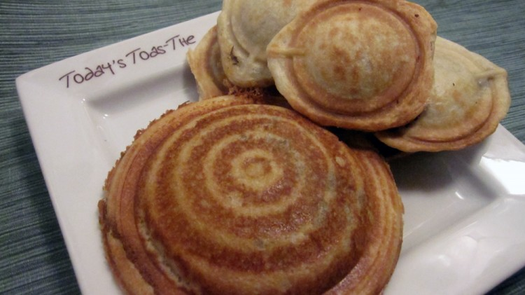 Mini Pie Pop Maker Picture in pancakes
