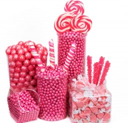 1600x1600px Pink Candy Buffet Ideas Picture in Chocolate Cake
