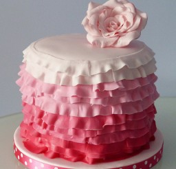 457x640px Ruffle Cake Stand Picture in Cake Decor