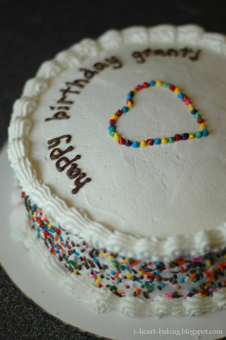 Sprinkles For Baking Picture in Birthday Cake