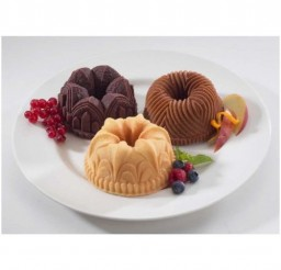 500x500px Individual Bundt Cake Pans Picture in Cupcakes